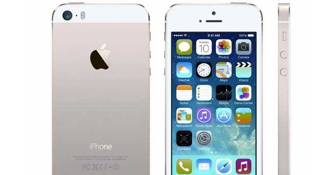iPhone 5S debuts