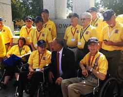 Most of the veterans who arrived at the World War II Memorial came courtesy of nonprofit programs, including Honor Flight Network, that transport the aging men and women to Washington.
