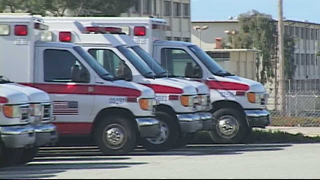 The Salinas Fire Department believes it is faster getting to a scene with an ambulance than American Medical Response.