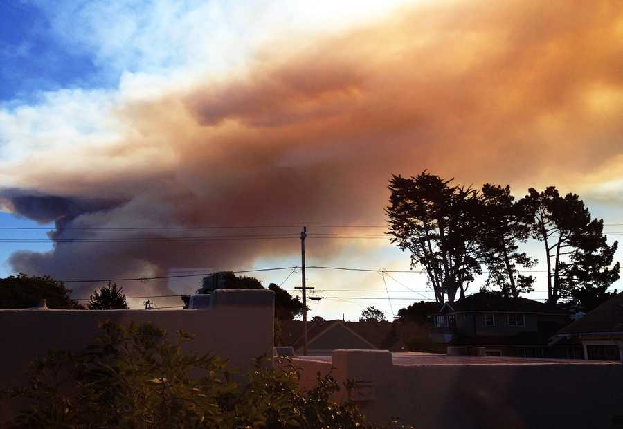 Sharon Ericksen snapped this in Pacific Grove Monday.