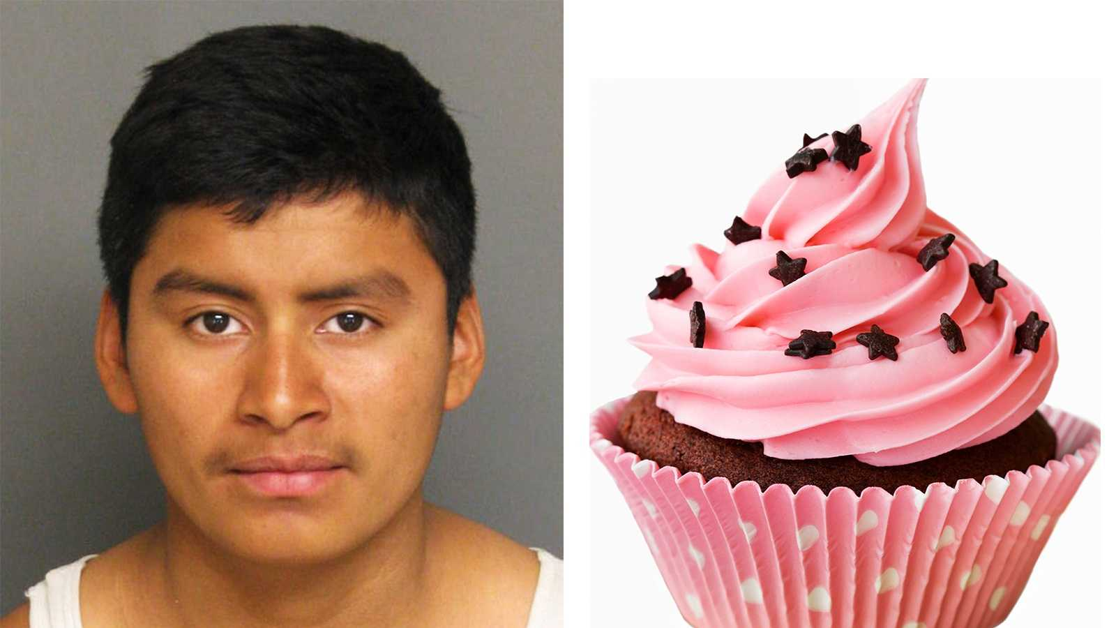 Leonardo Salvador is accused of robbing an 8-year-old boy of his cupcake in Greenfield.