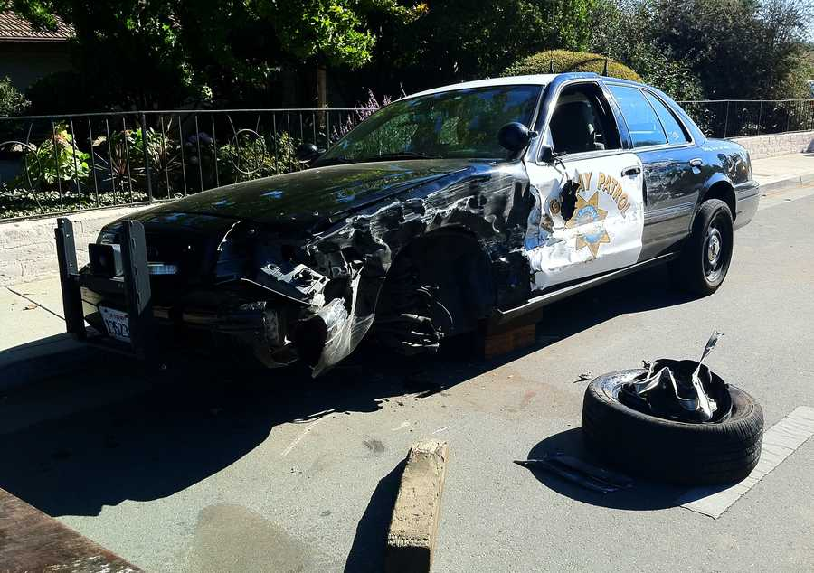 Wednesday's chase was one of many that Anderson spurred this month. On Oct. 9, Anderson carjacked a vehicle on Riverside Road in Watsonville and managed to slip away from authorities, Kennedy said.