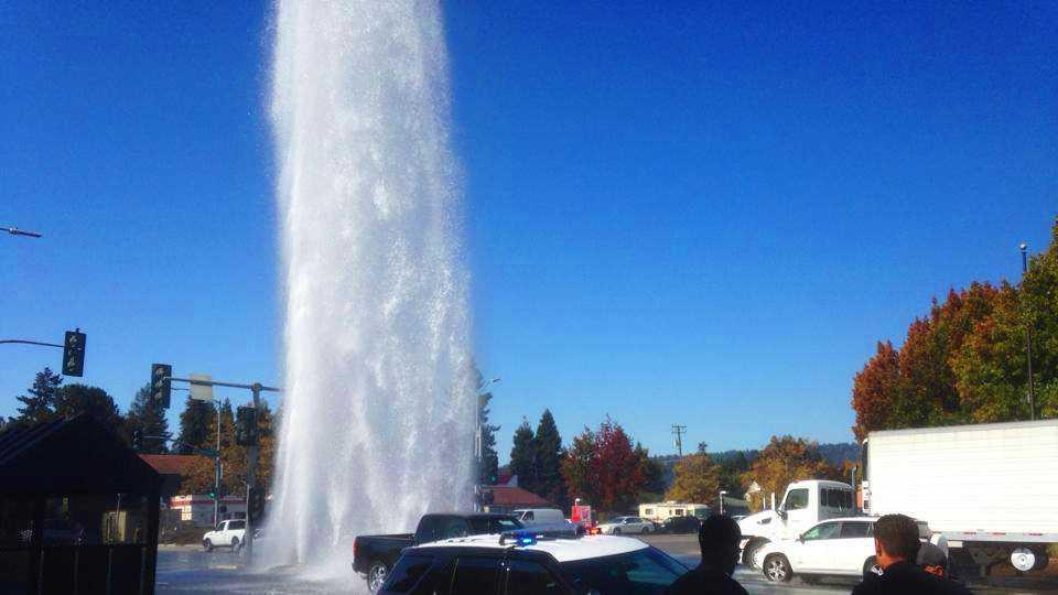 Water Street in Santa Cruz (Oct. 21, 2013)