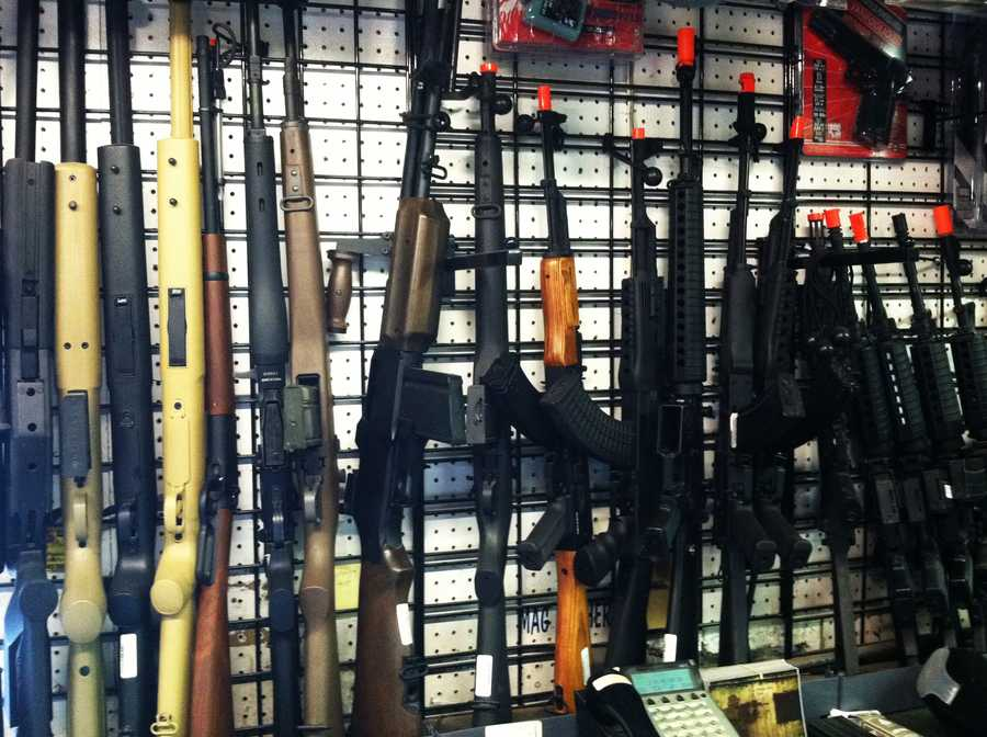 J&S Surplus in Moss Landing sells these toy guns.