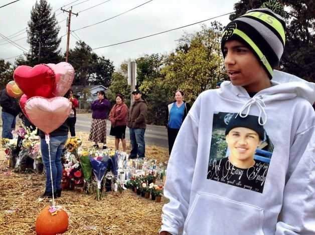 Luis Diaz, 13, a close friend of Andy Lopez Cruz, said his best friend should not have been shot.