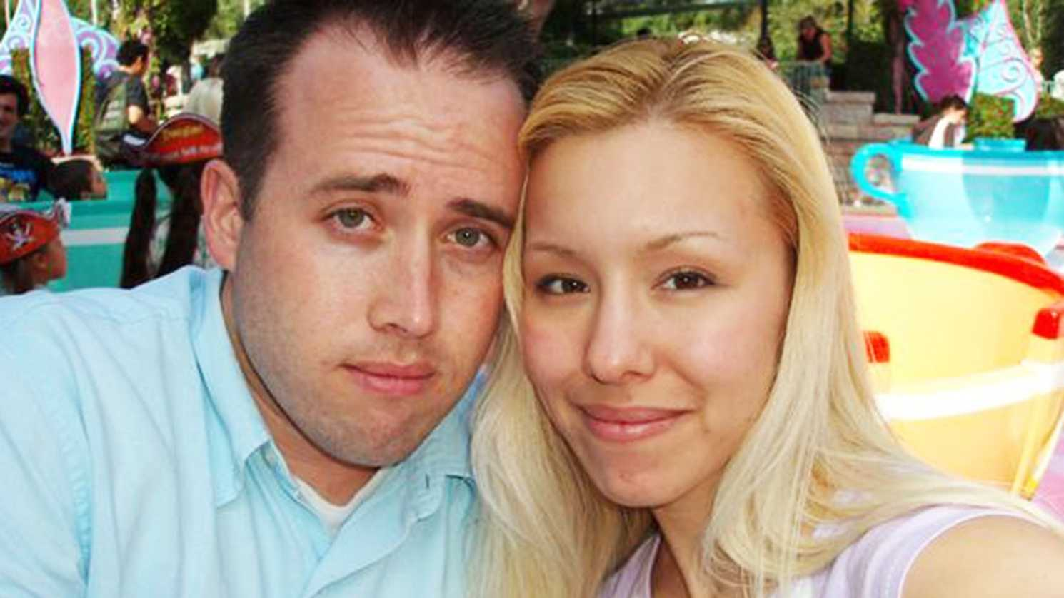 Jodi Arias, right, was convicted of killing ex-boyfriend Travis Alexander, left.