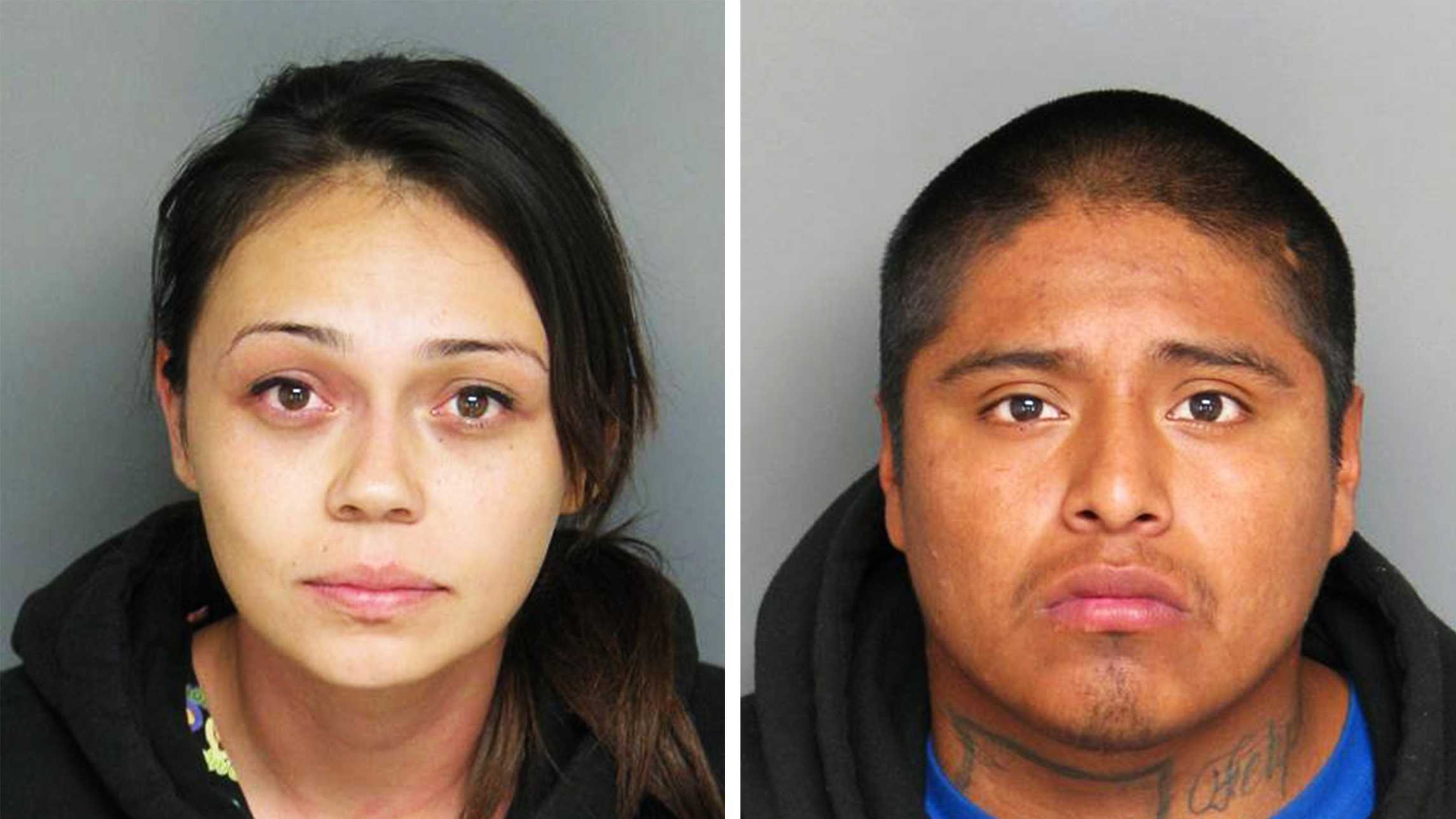Susana Mendez, left, and Alejandro Ramirez, right, are seen in police mug shots.