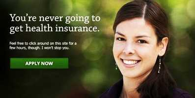 "Some users were unable to create accounts or sign up for coverage as recently as Sunday, Oct. 27. Conservative blog Power Line changed the text to read: ""You're never going to get health insurance. Feel free to click around on this site for a few hours, though. I won't stop you."""