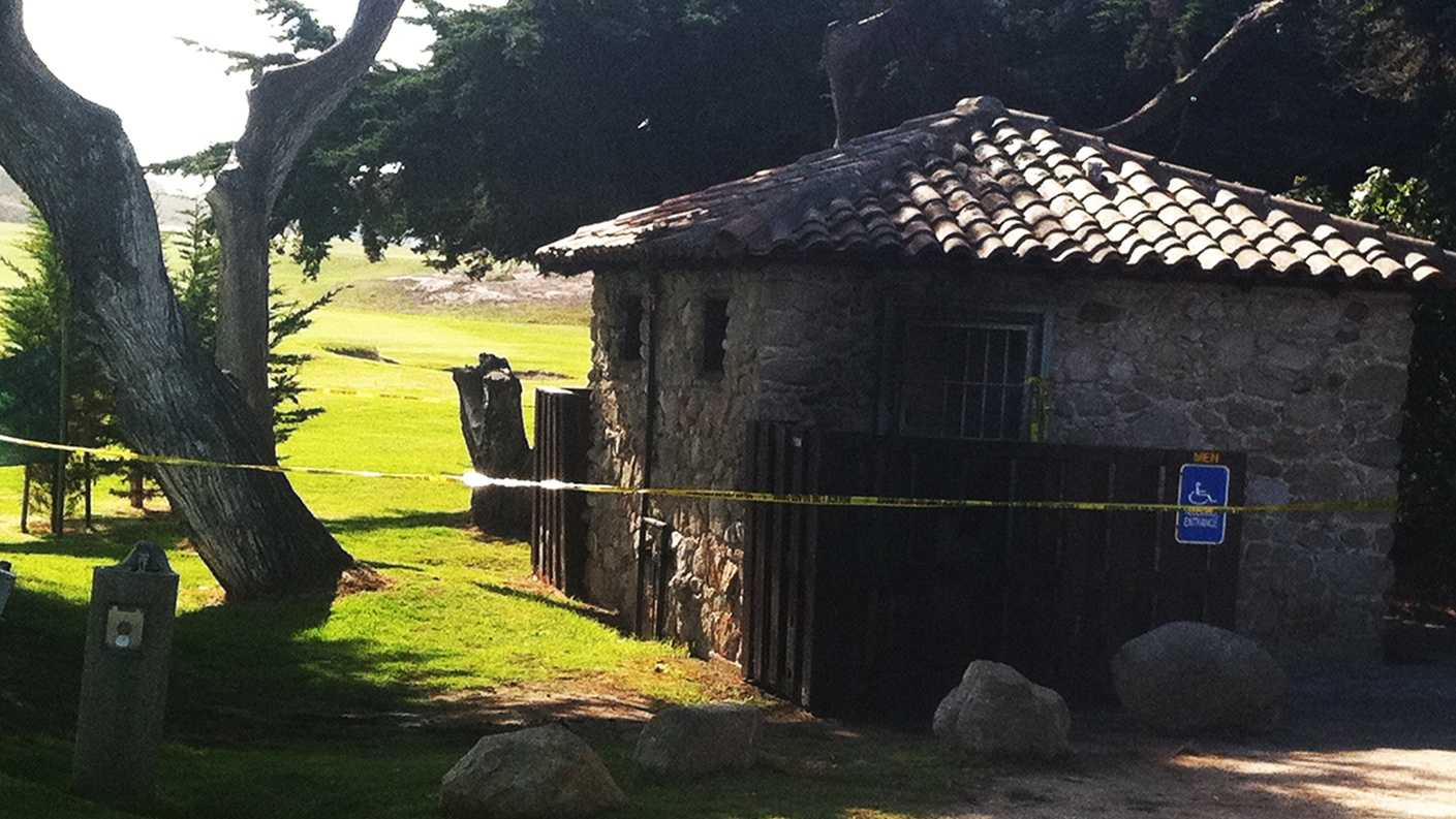 A man burned to death on a golf course in Pacific Grove. (Nov. 3, 2013)