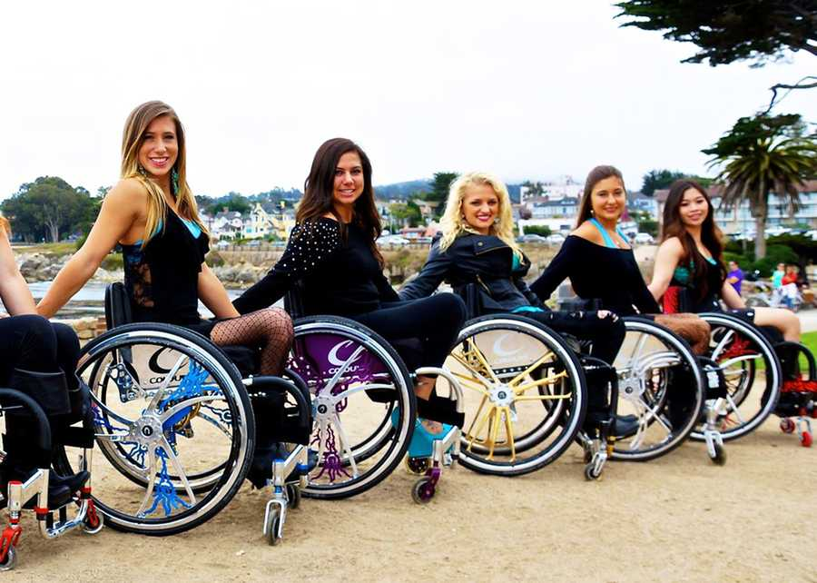 Hill also stays on shape dancing with a wheelchair dance team.