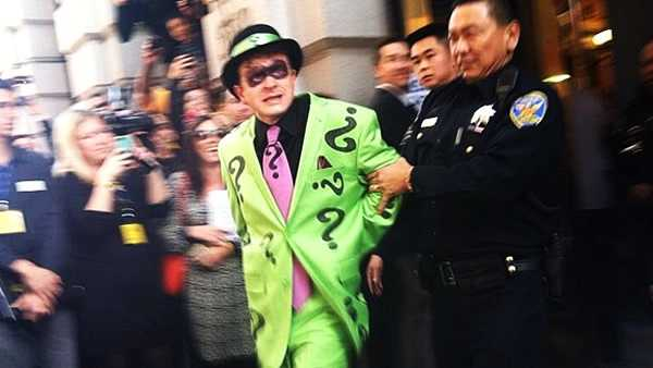 But San Francisco police arrested the evil villain thanks to Batkid.