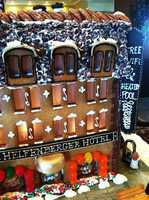 The chefs gave KSBW Reporter May Chow the first look at their elaborate -- and 100 percent edible -- Christmas creation.