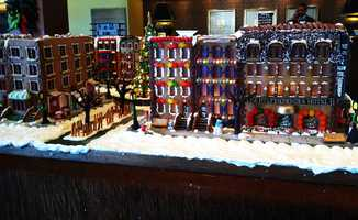 What's better than New York City with fresh snow, gingerbread, and Christmas? Putting all three together.