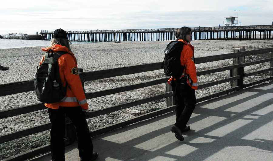 On Friday, Sheriff's Search and Rescue Team deputies searched beaches in Capitola and Aptos on all-terrain vehicles, and a helicopter conducted an aerial search.