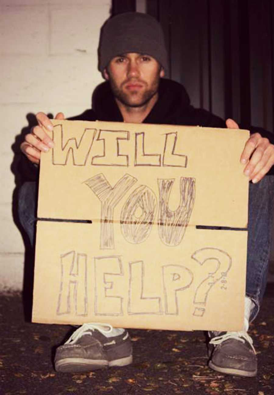 He left his house equipped with nothing but his cellphone, cellphone charger, and a backpack. He did not bring any food, water, or money to help him survive on the streets. You can donate to Sondgroth's cause, called Bring Todd Home, by clicking here.
