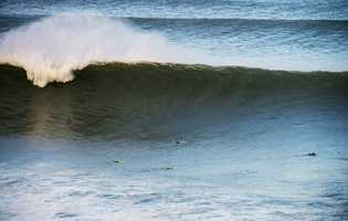 Two surfers from Santa Cruz finished in the top 3 of the Big Wave World Tour contest.