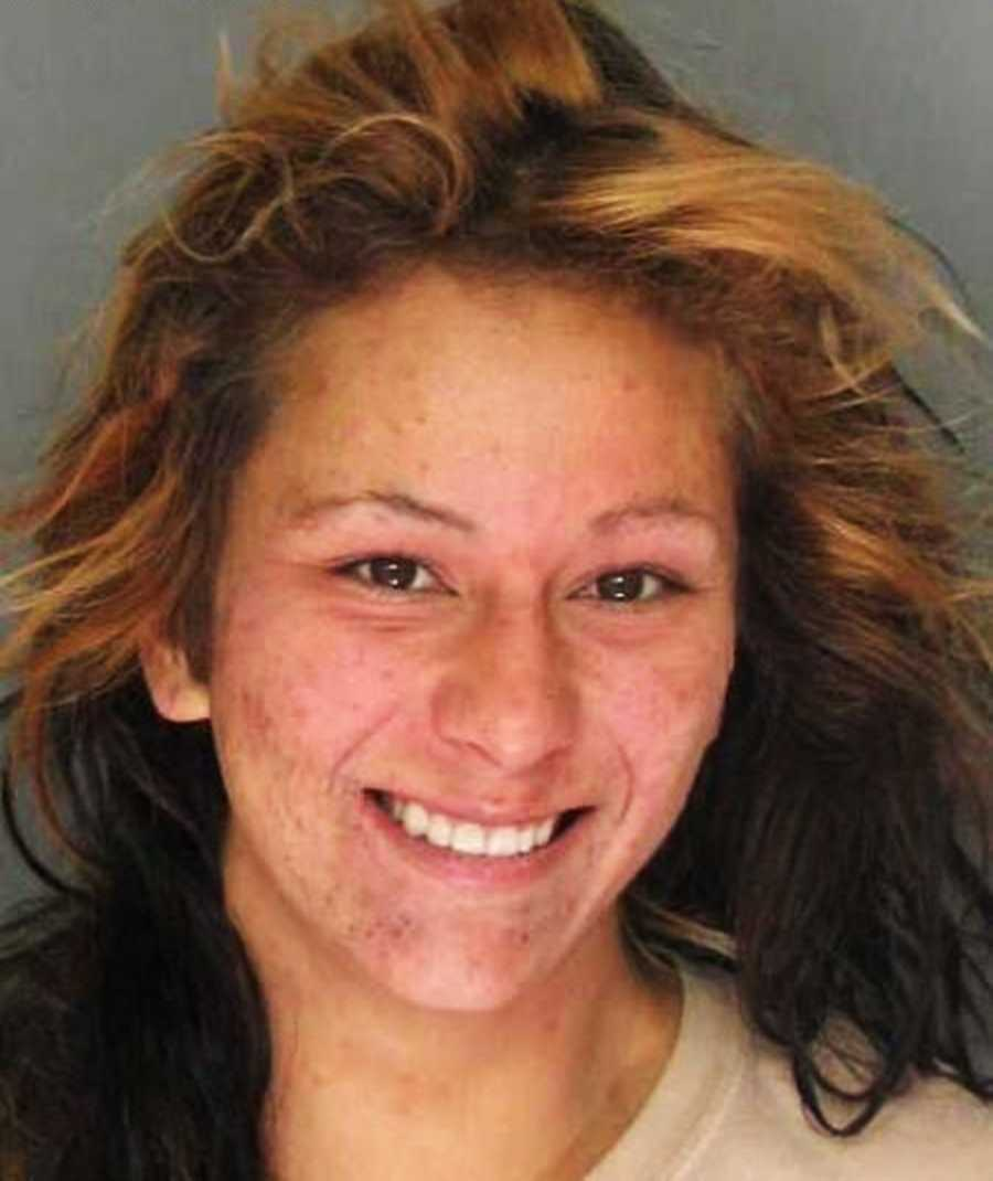 She was permanently banned by the Santa Cruz metro bus station and the Homeless Services Center.