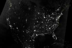 Artificial Light Across The U.S. - This natural-light mosaic image was captured by the Visible Infrared Imaging Radiometer Suite (VIIRS) on the Suomi NPP (National Polar-orbiting Partnership) satellite on Oct. 1.