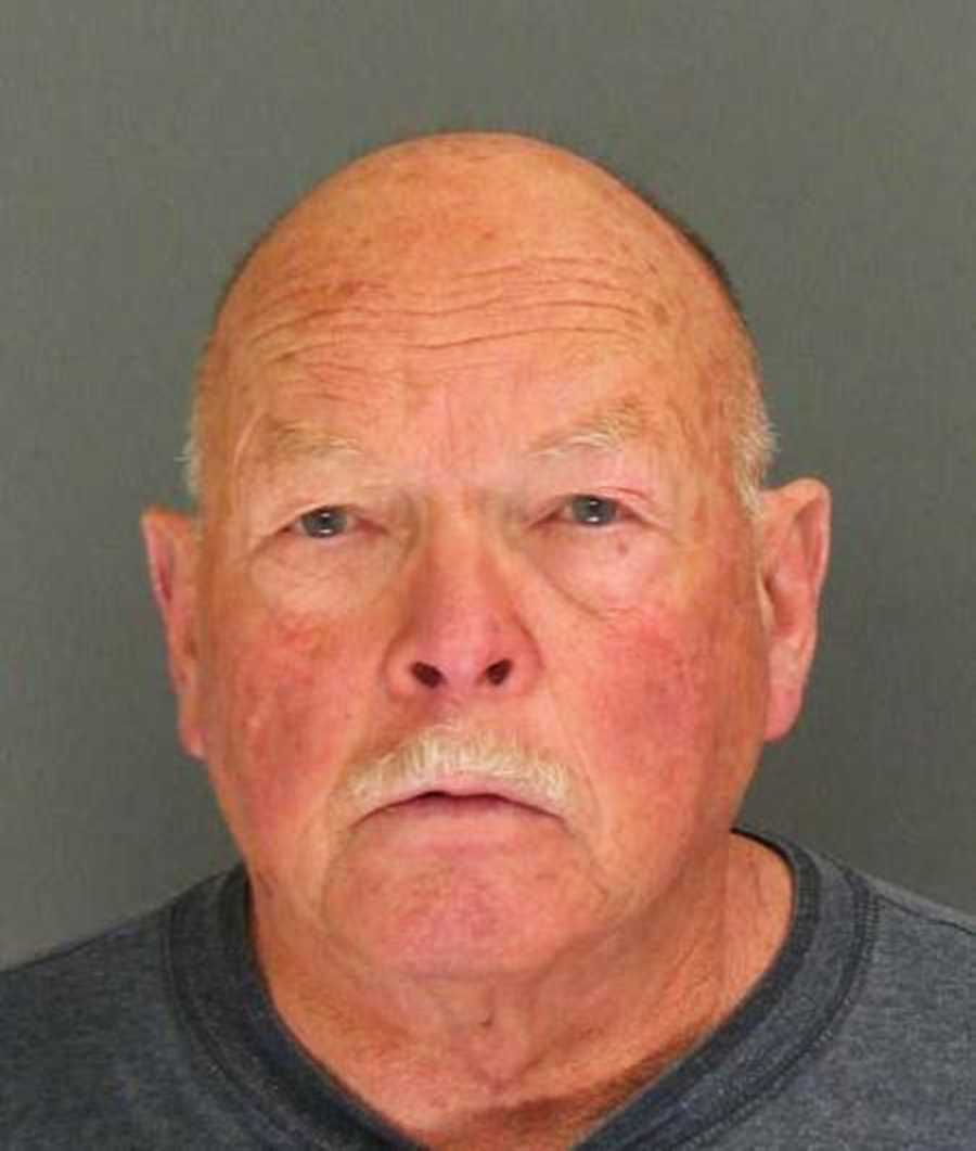 "Richard Hill, 70, of Aptos, was arrested Jan. 13, 2014 on suspicion of spraying pepper spray at a New Year's Day house party. Witnesses said Hill sprayed multiple party guests, including his ex-girlfriend who has a restraining order against him. ""The host was particularly upset since his annual party was ruined,"" one witness said. Sheriff's deputies believe Hill's intended target was his ex-girlfriend."