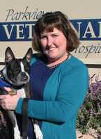 "Best Woman-Owned Business – Parkview Veterinary Hospital – Cynthia Nichols, D.V.M.Dr. Cynthia Nichols grew up on the Central Coast in King City. She completed her undergraduate degree at UC Santa Cruz, majoring in Marine Biology. She graduated from UC Davis in 2000, focusing on small animals and exotics. Dr. Nichols purchased Parkview Veterinary Hospital in 2006 where she has provided ""Compassionate Care with a Modern Approach"" to her clients and patients. In July, 2012, she added a second full time doctor. She recently expanded the facility to include an on-site doggy daycare facility, Yippee!, which opened in October, 2013. Parkview Veterinary Hospital is a member of the Carmel Chamber of Commerce. Community involvement is a priority for Dr. Nichols. She is a supporter of animal organizations, including Animal Friends Rescue Project, Peace of Mind Dog Rescue and is a foundation board member of The Birchbark Foundation. She most recently became a community partner with Pawsitive Service Dog Solutions. She trains and places service dogs with individuals with Autism."