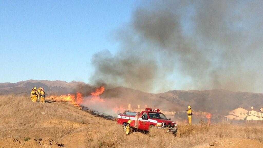 Six fires started in Salinas