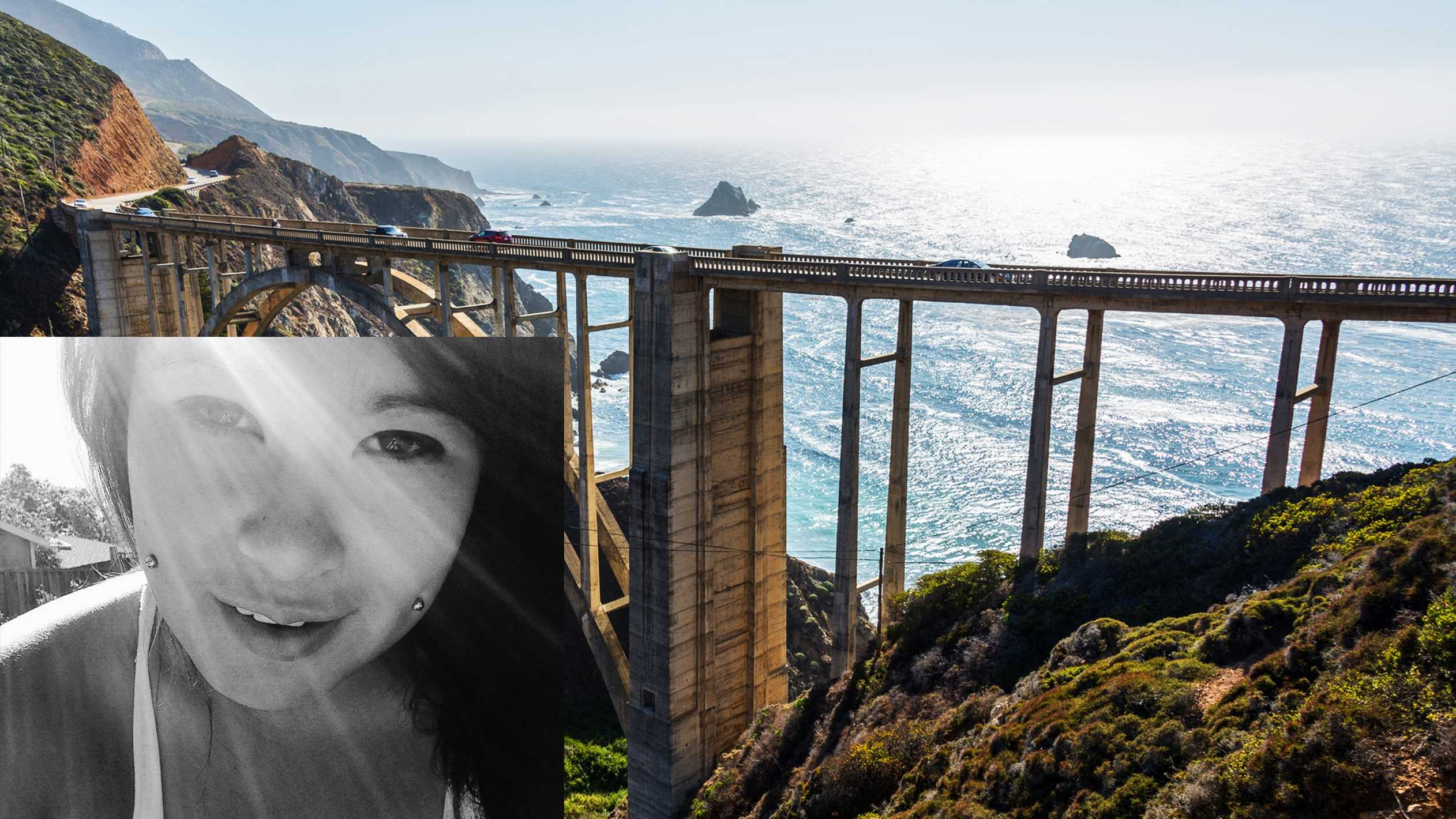 Nina Shizumi Sakima died below the Bixby Bridge in Big Sur on Jan. 19, 2014.