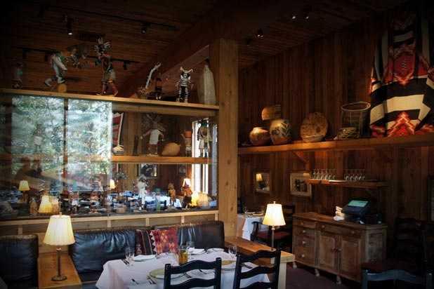 2.  Tree Room at Sundance Resort - Sundance, UT