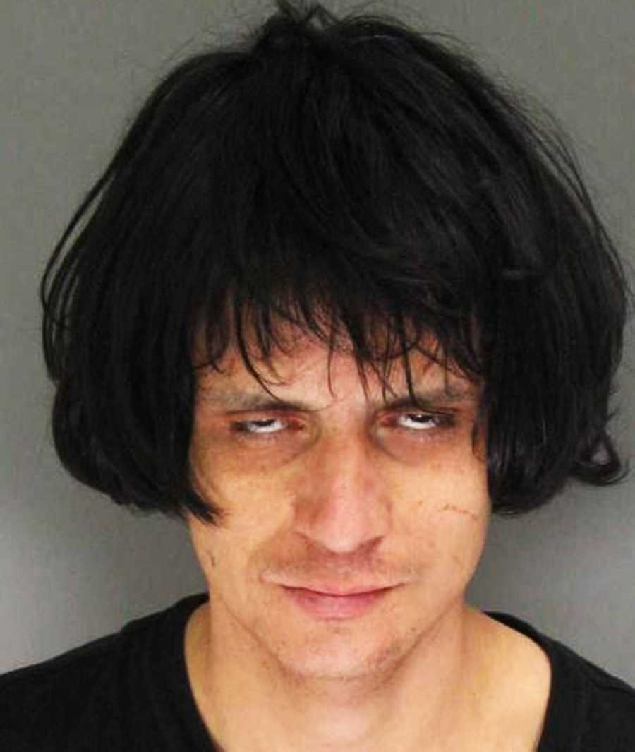 John Kyle Kamandulis, 27, of Santa Cruz, was arrested on suspicion of being under the influence of drugs on Feb. 1, 2014.