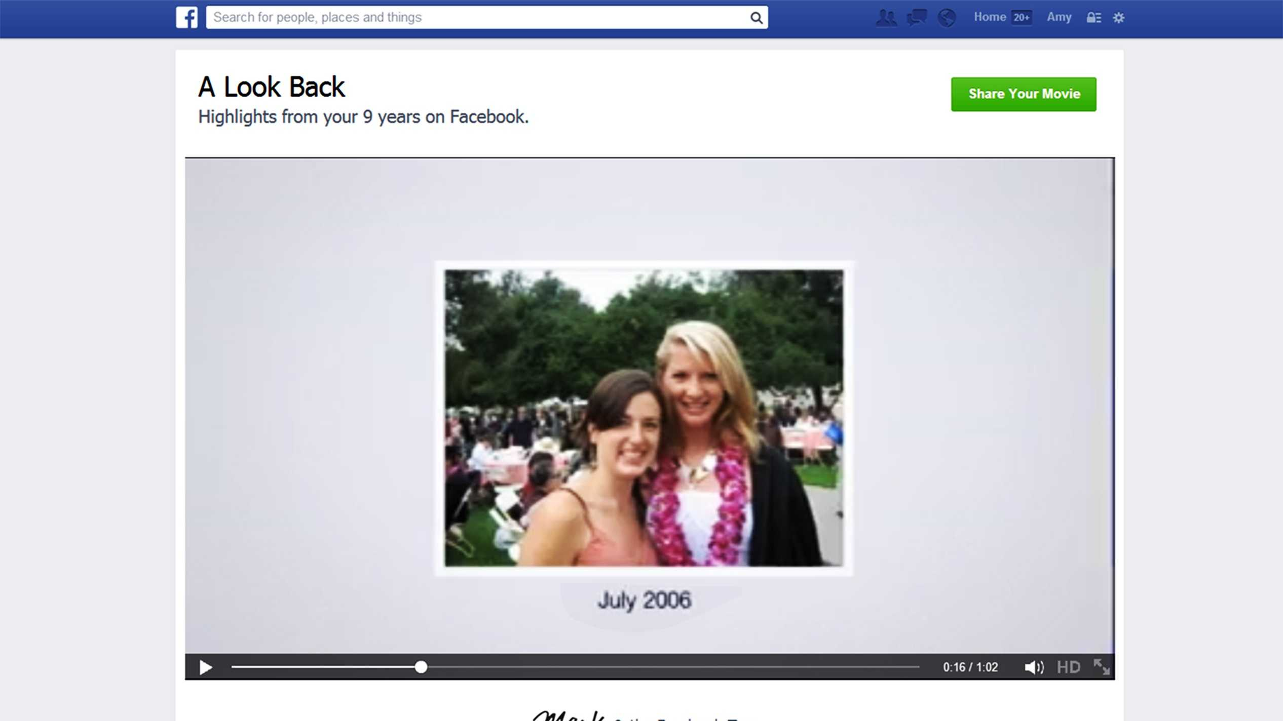 KSBW Digital Media Manager Amy Larson has been on Facebook for nine years.