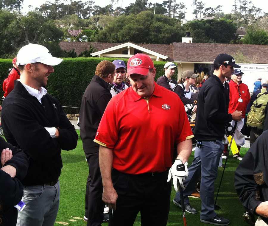 Former SF 49er quarterback Alex Smith