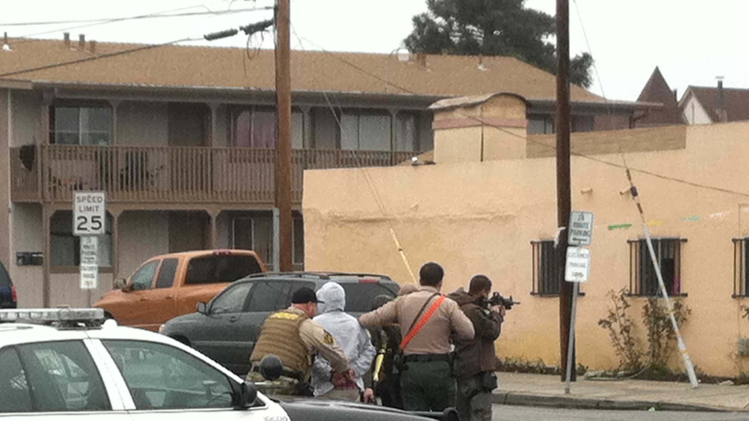 3-hour standoff ends in Pajaro