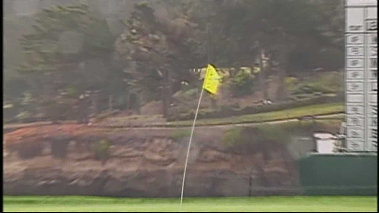 High Winds Cause Delays At AT&T Pebble Beach Pro-Am