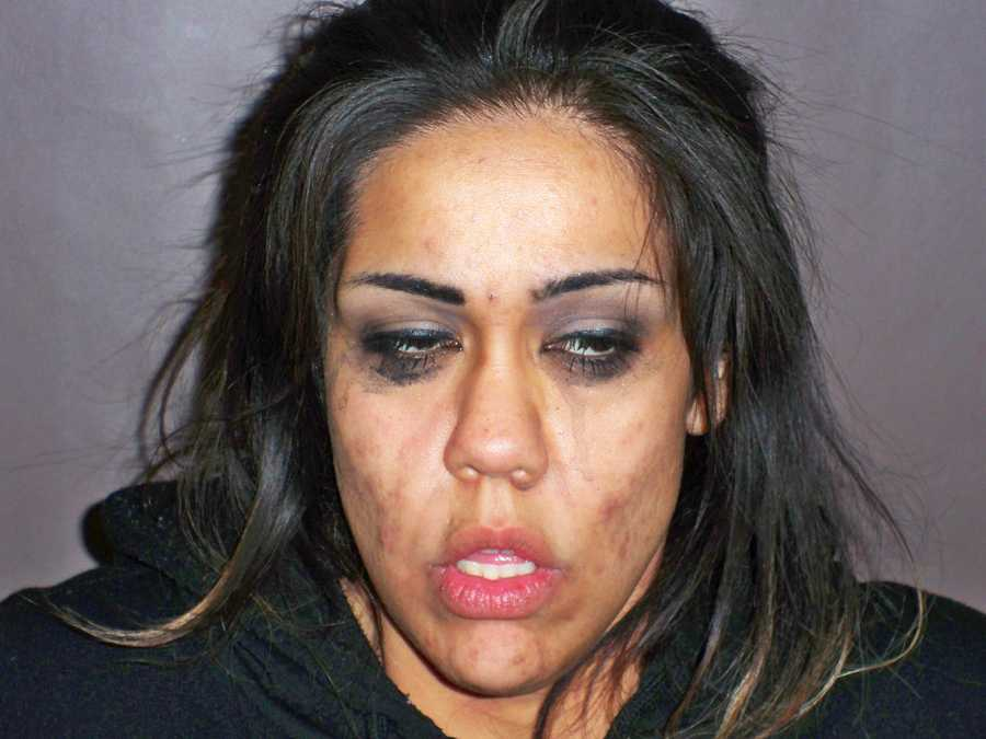Michelle Lopez, 25, was arrested on drugs charges by Hollister police at 3:45 a.m. Jan. 29 after she was found hiding in a vehicle with several people. Officers found methamphetamine, heroin, and prescription drugs inside the vehicle.