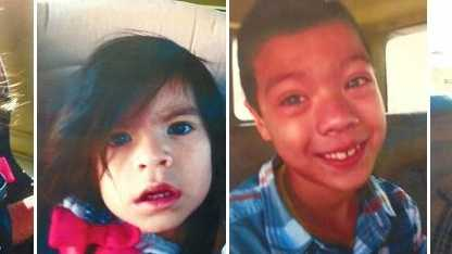 Los Angeles police say Janet, Veronica, Justin and Enrique Felix were abducted by their parents on Friday.