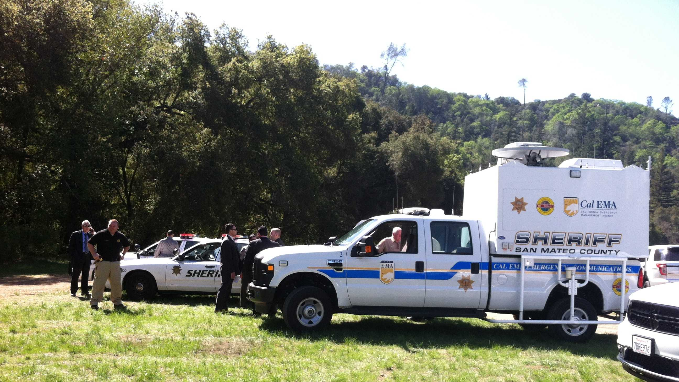 Authorities search forest for man after deputy-involved shooting