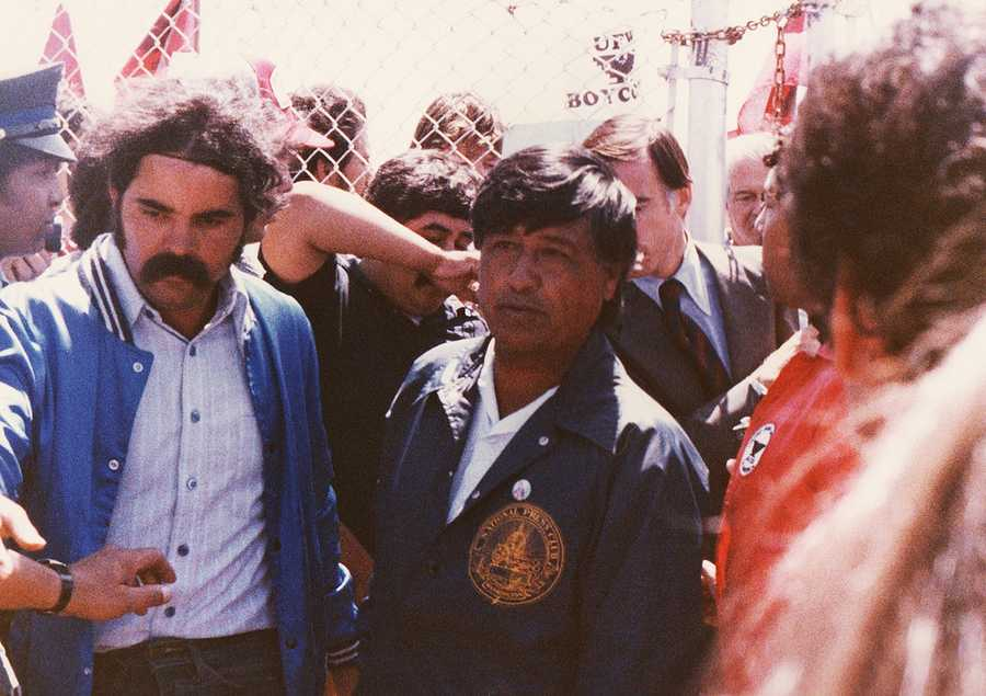 """""""Cesar Chavez dedicated his life to improving the lives of the people who grow our food. Today we are not just honoring his legacy but the legacy of all those who spoke out against injustice and championed the rights of America's farmworkers,"""" Farr said."""