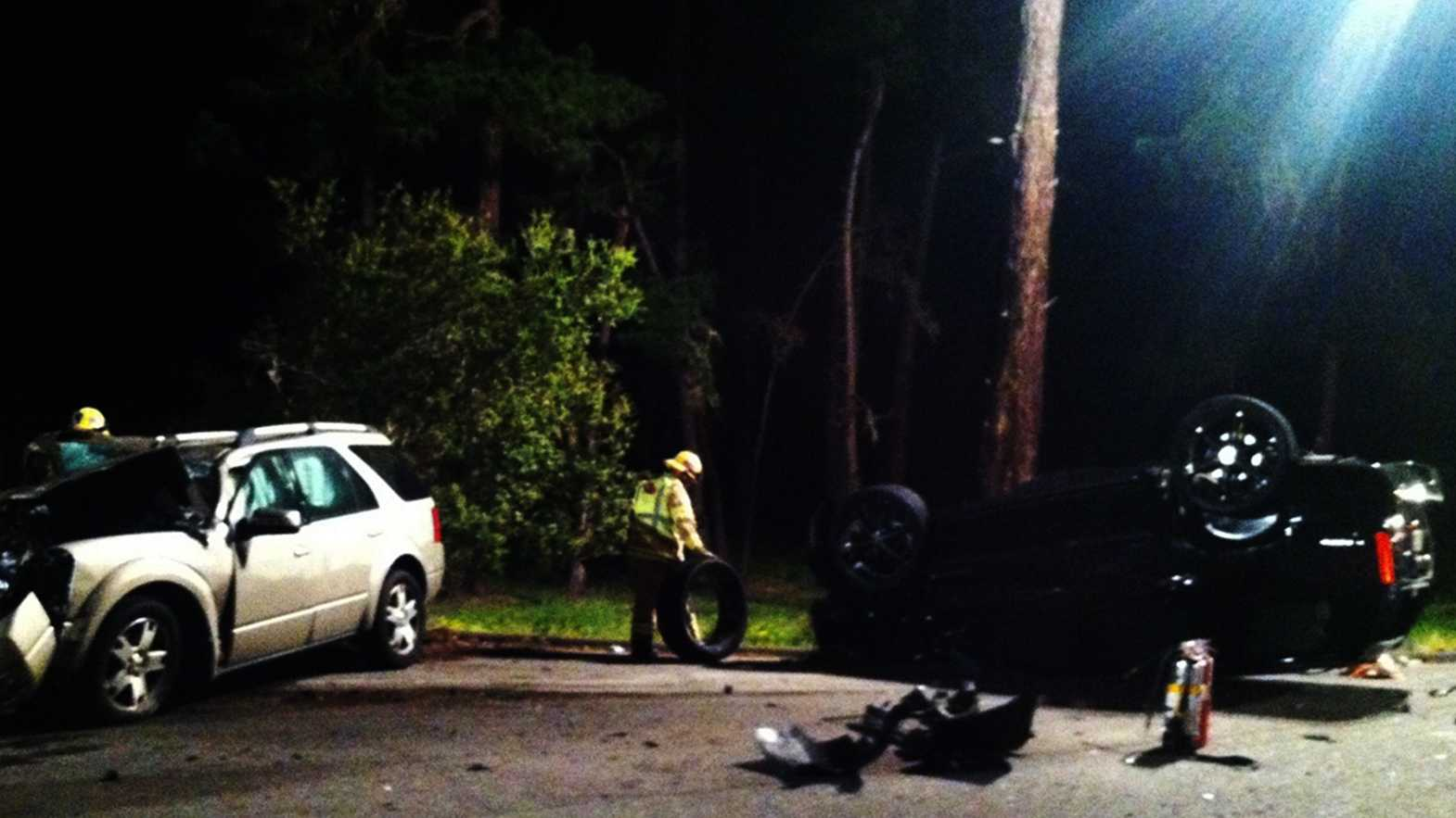 Two women died in thisApril 7, 2013 crash on Sloat Road in Pebble Beach.