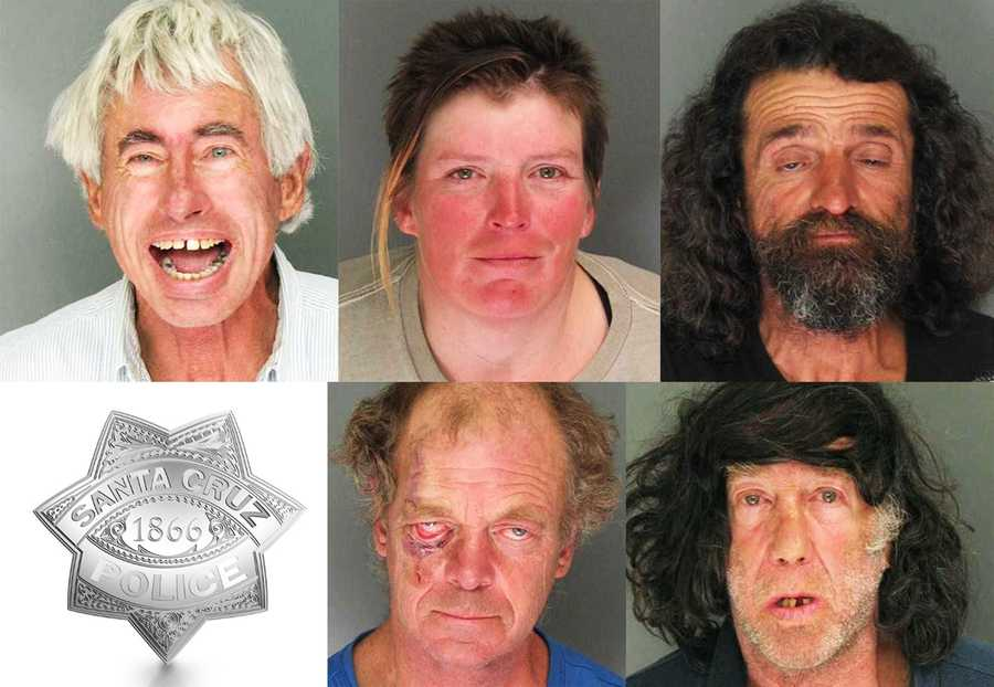 "Santa Cruz County District Attorney Bob Lee's new ""vertical prosecution"" criminal justice system will be tested out on these five chronic criminals."