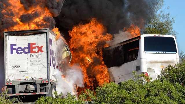 Bus Crash - 1