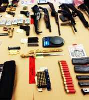 High-powered assault rifles