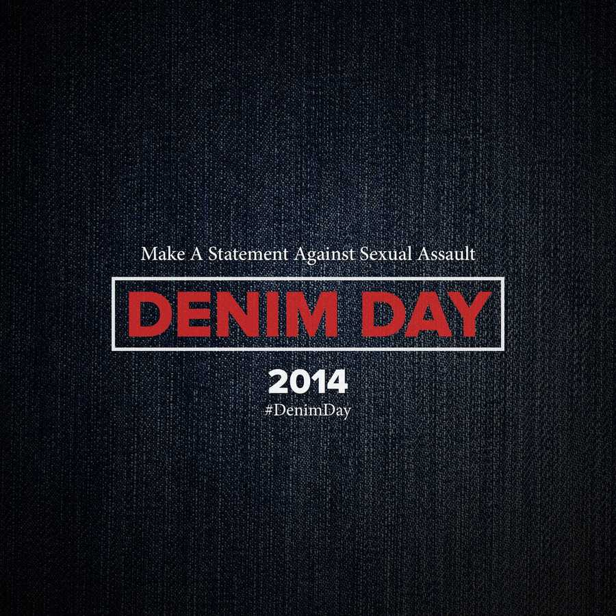 KSBW TV Action News 8, 102.5 KDON, and 92.7 KTOM supported Denim Day by wearing jeans to work Wednesday.