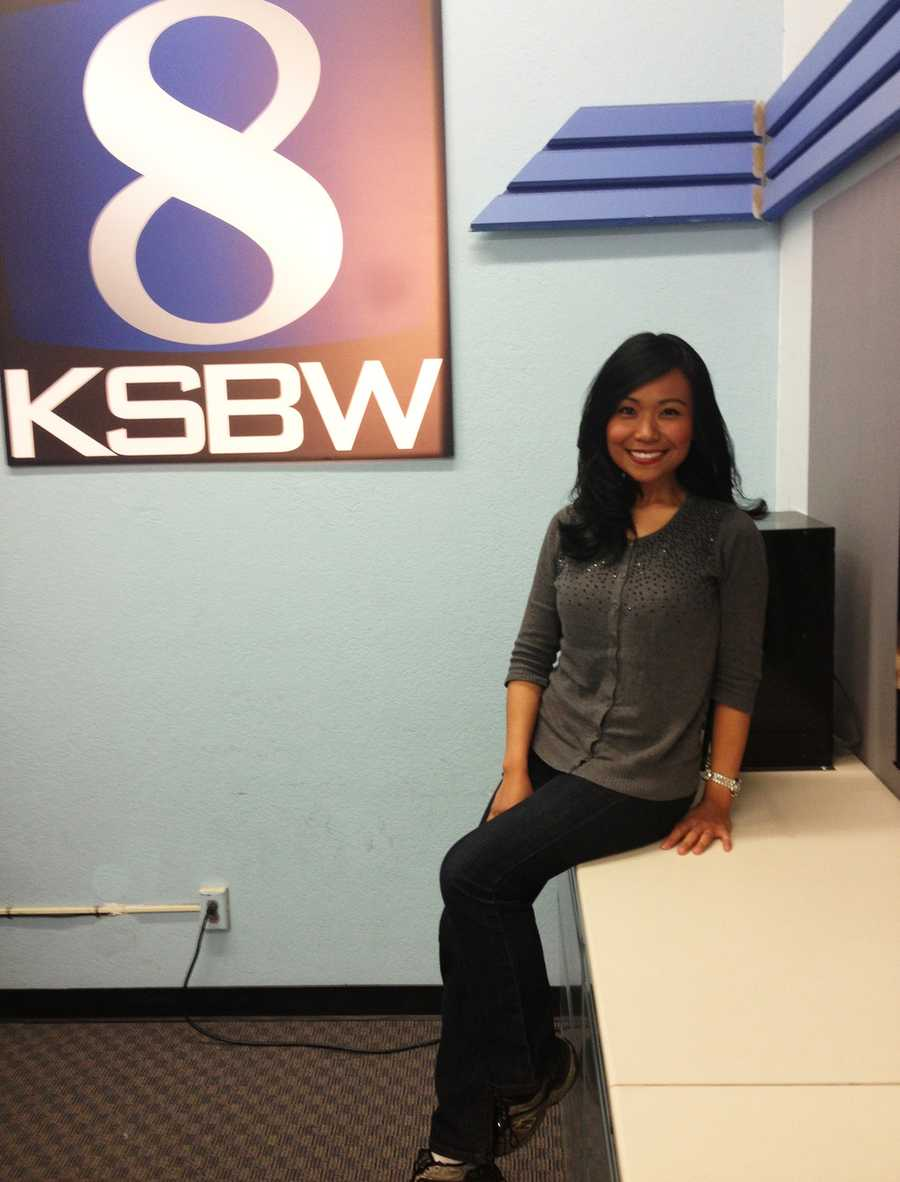KSBW Reporter May Chow joined the Denim Day awareness effort on April 23, 2014.