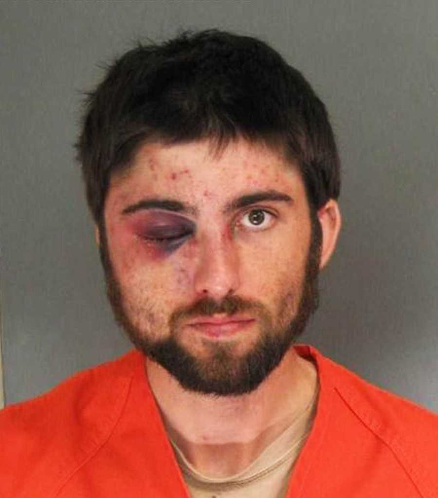 George Andrew Jaynes, 27, of Santa Cruz, was arrested April 30 on East Cliff Drive by sheriff's deputies for battering a peace officer, possessing drugs, possessing a syringe, and resisting arrest.