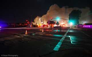 """Casteel and fellow firefighters used a """"surround and drown"""" tactic as half a block burned.(May 12, 2014)"""
