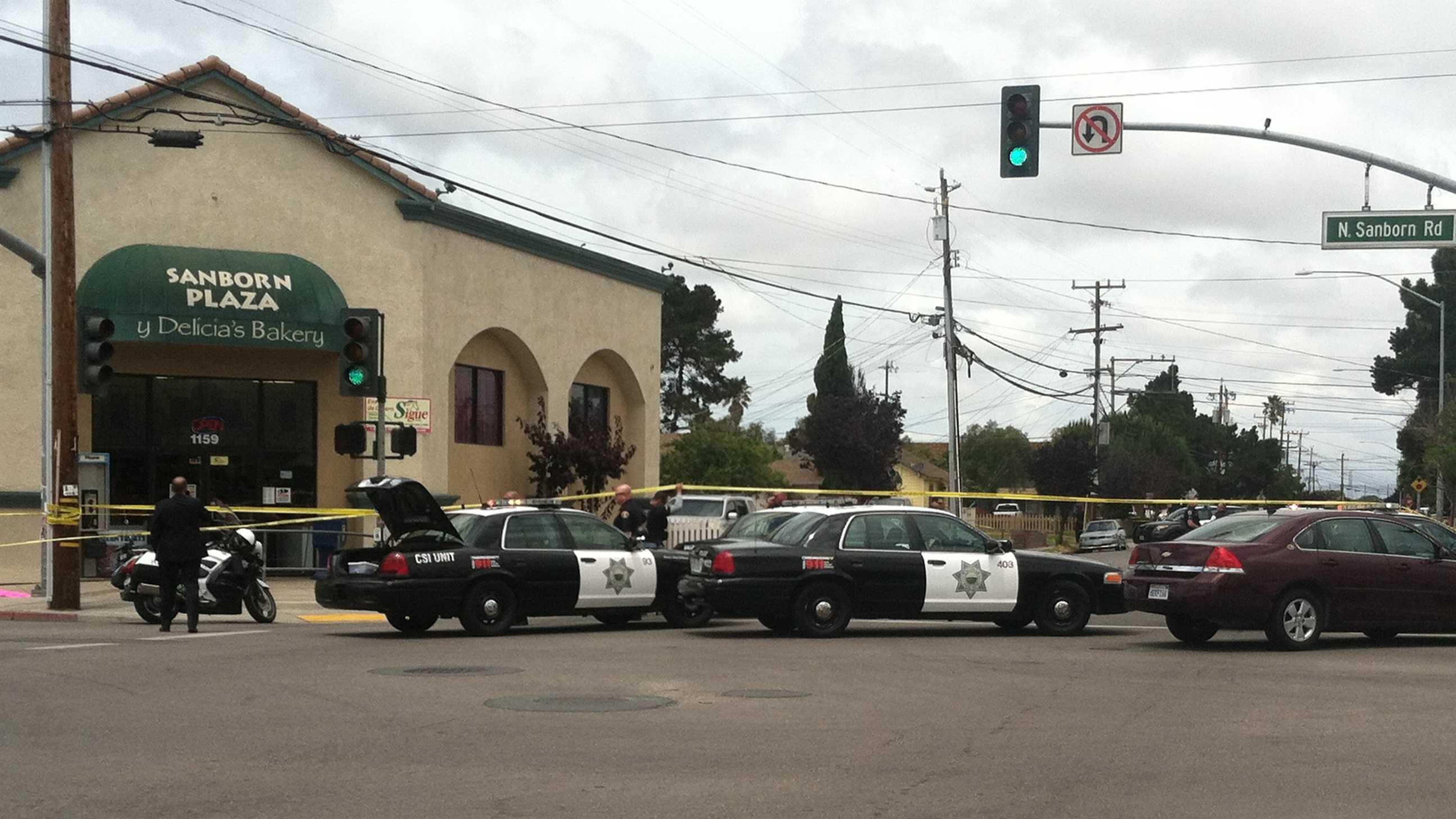 Shooting outside bakery in Salinas