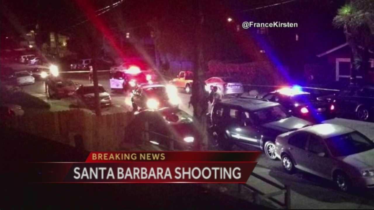 Seven dead in Santa Barbara 'mass murder'