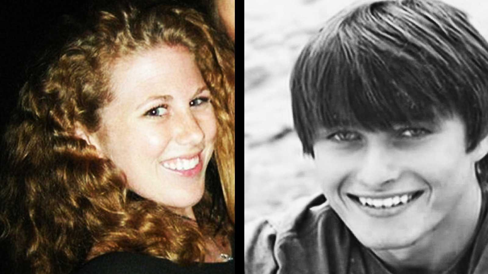 Katherine Cooper, left, and Chris Michaels-Martinez, right.