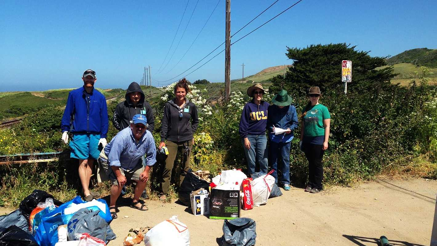 Save Our Shoresremoved 314 pounds of trash from Panther Beach on Tuesday.