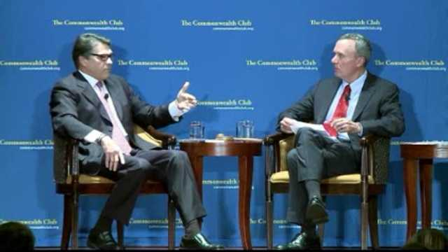 Rick Perry in San Francisco