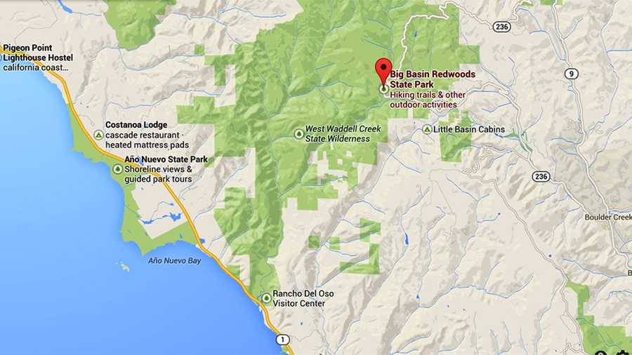 Wildfire in Big Basin State Park has been contained